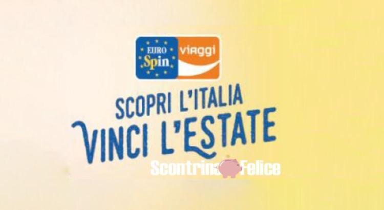 Concorso Eurospin Scopri l'Italia Vinci l'Estate