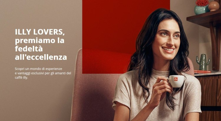 Concorso Programma Fedeltà ILLY LOVERS illy Shop