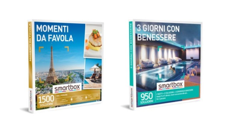 """Vinci Smartbox """"Momenti da favola"""" e """"Tre giorni con benessere"""" con ALDI"""