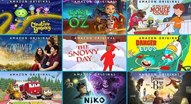 Amazon Prime Video gratis cartoni e serie tv ragazzi