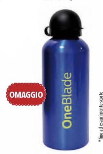 %name Philips OneBlade da Acqua e Sapone: ricevi una borraccia come premio sicuro!