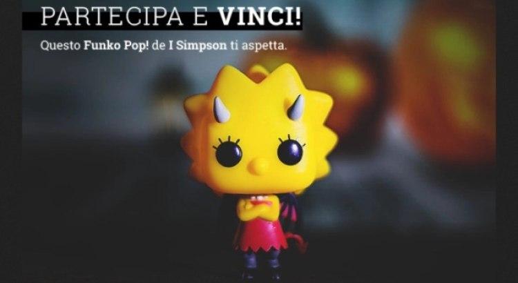 Vinci gratis Funko Pop di Lisa de I Simpson