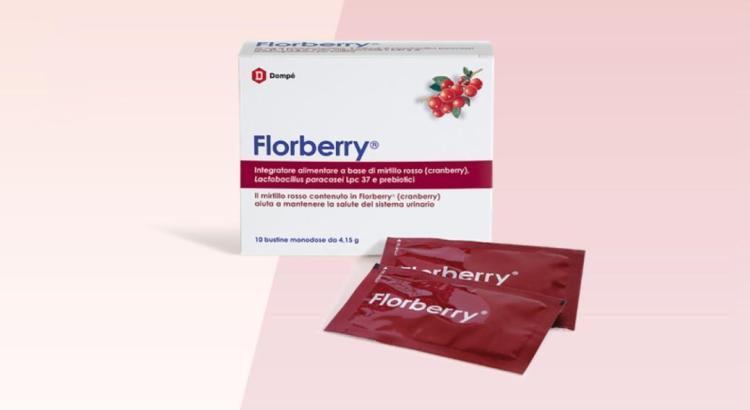 Diventa tester integratore Florberry a base di mirtillo rosso e probiotici
