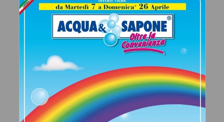 nuovo volantino Acqua e Sapone dal 07-04-2020 al 26-04-2020