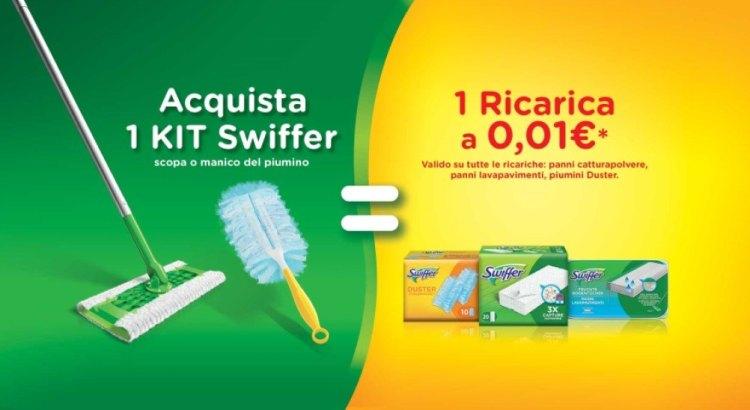 Spendi e Riprendi Swiffer 1+1 ricevi il rimborso della ricarica Swiffer