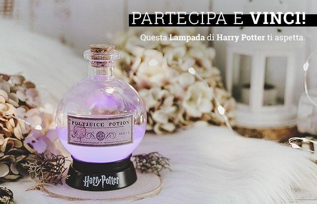 Vinci gratis la lampada di Harry Potter con EMP