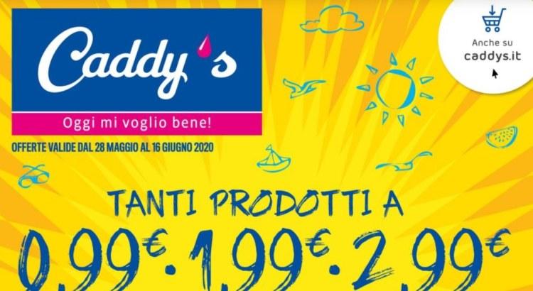 Concorsi e iniziative nuovo volantino Caddys dal 26-05 al 16-06-20