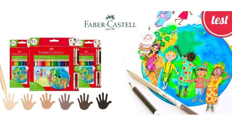 Diventa tester Faber-Castell Children of The World