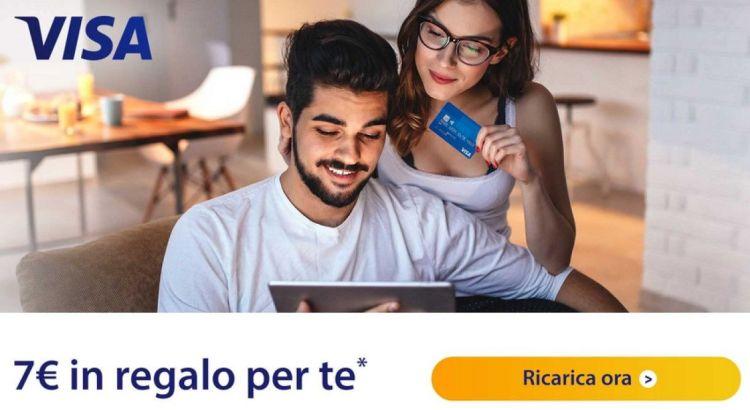 Ricarica il tuo account Amazon e ricevi un buono di 7 euro in regalo