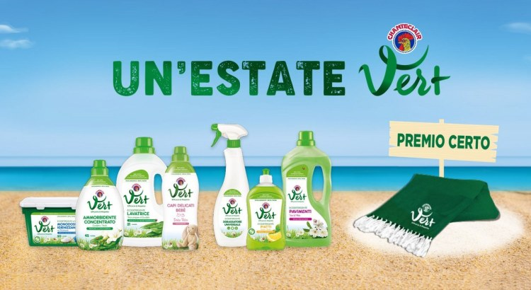 Un'Estate Vert Chanteclair Vert telo mare come premio certo