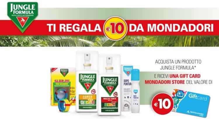 Jungle Formula Goditi la lettura senza zanzare Premio Certo Mondadori
