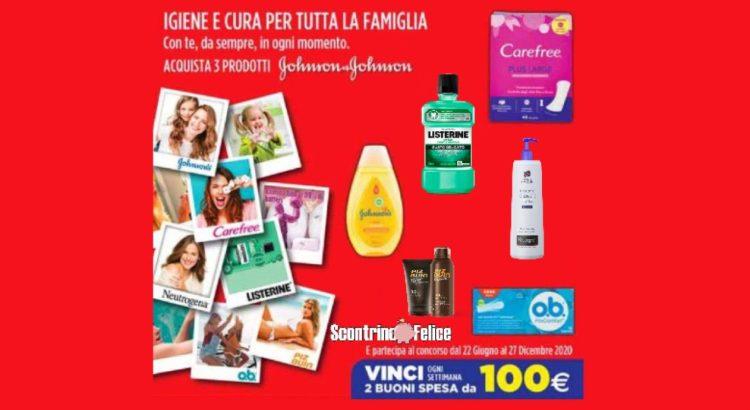 Concorso Igiene e cura per tutta la famiglia vinci buoni spesa da 100 euro