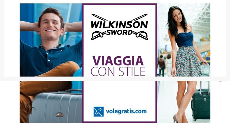 Concorso Wilkinson Viaggia con stile vinci Volagratis
