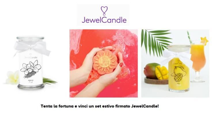 JewelCandle vinci gratis candele e bomba da bagno con gioiello