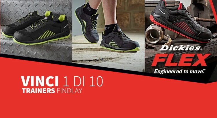 Vinci gratis scarpe sportive antinfortunistiche Dickies Findlay