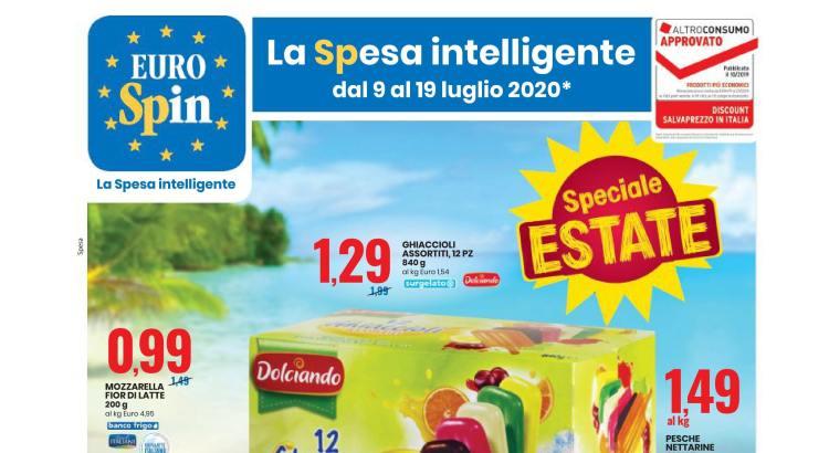 Volantino Eurospin valido dal 9-07 al 19-07 2020-01