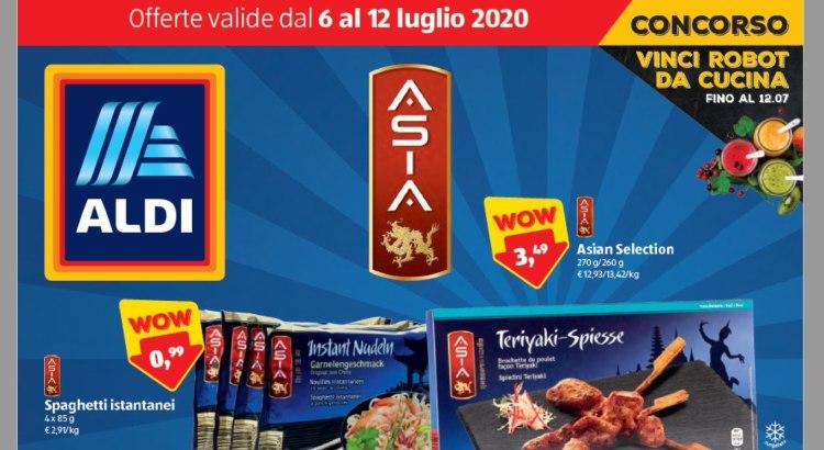 Volantino Offerte ALDI valido dal 6-07 al 12-07 2020