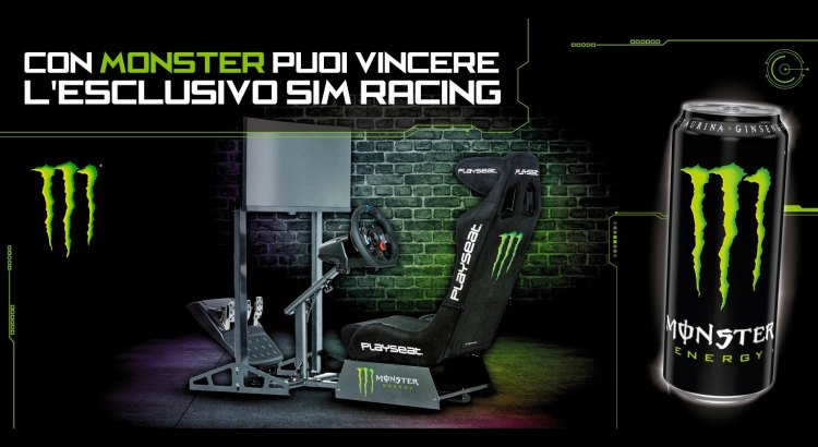 CONCORSO A PREMI MONSTER VINCI SIM RACING SIMULATOR