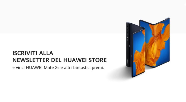 Concorso Newsletter Huawei Store