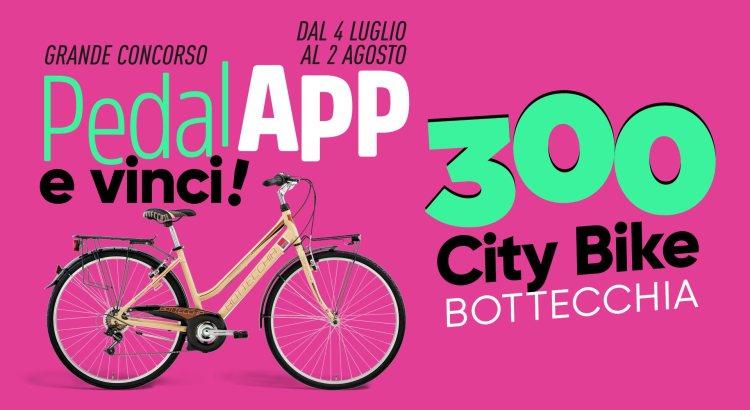 Concorso PedalAPP e Vinci gratis biciclette Bottecchia da Bennet