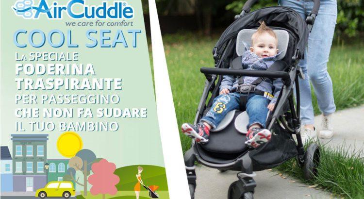 Diventa tester Foderine Cool Seat di AirCuddle