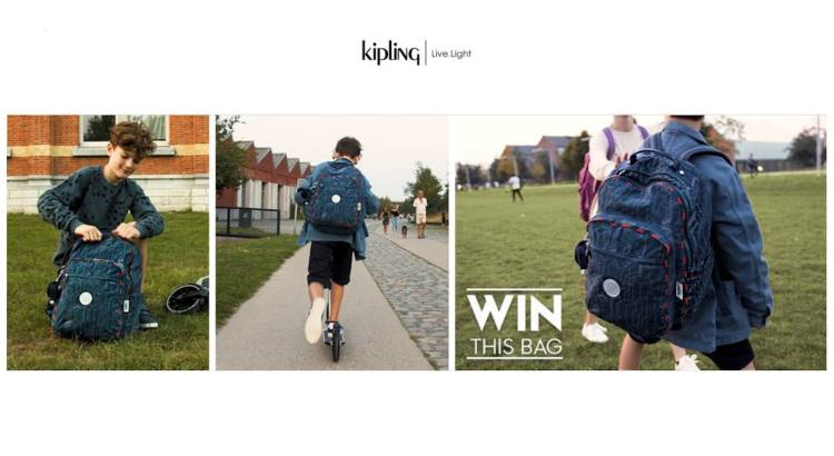 concorso kipling vinci gratis zaino seoul light up