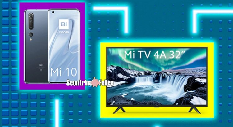 Tim Party vinci smartphone Xiaomi Mi 10 e Smart TV Xiaomi 4A 32