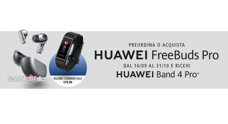Huawei FreeBuds Pro premio certo