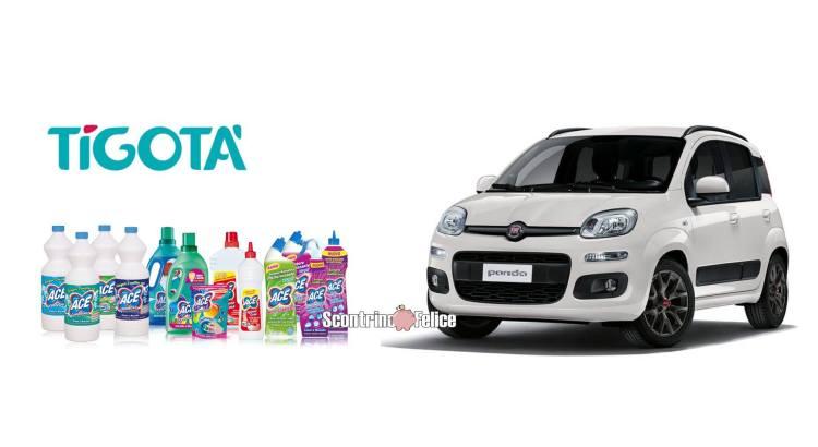 Concorso Ace da Tigotà vinci Fiat Panda Serie 3 Hybrid