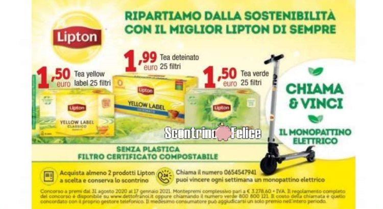 concorso Lipton Ripartiamo Dalla Sostenibilità vinci monopattino