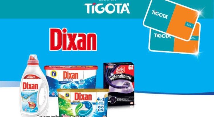 Concorso Tenta la fortuna con Dixan vinci 1300 gift card Tigotà 25 euro