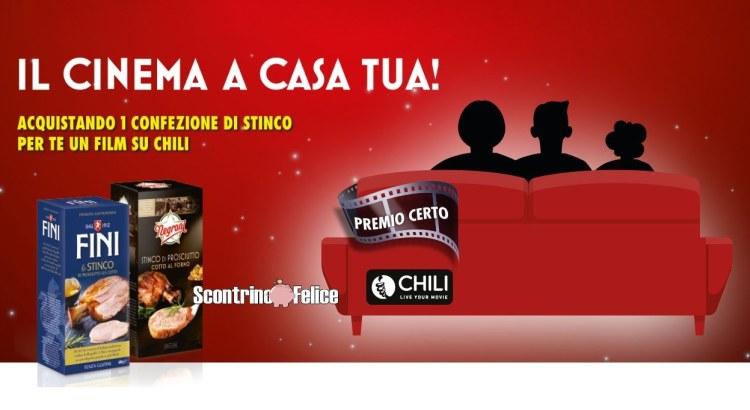 Stinco Negroni e Fini codice film CHILI come premio certo