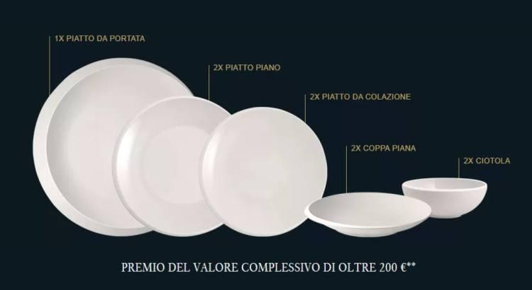 Vinci gratis un servizio di piatti NewMoon Villeroy & Boch
