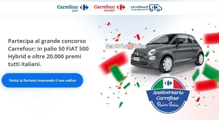 Concorso Carrefour Passione Italiana