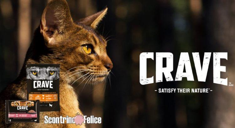 Diventa tester cibo gatto Crave
