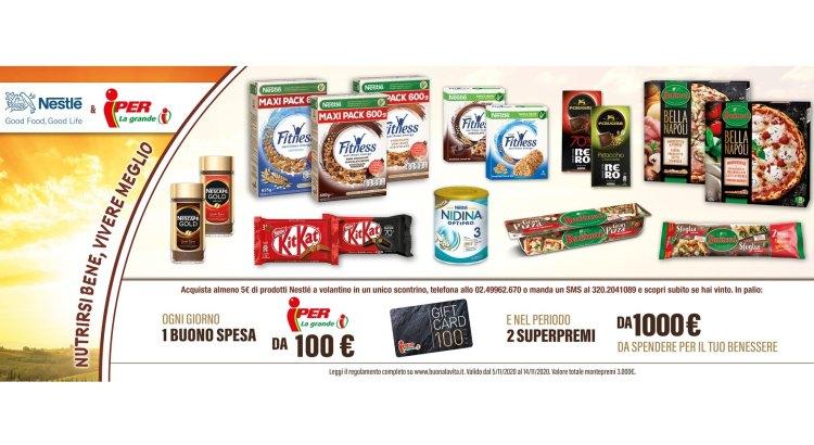 Concorso Iper La Grande i Nestlé