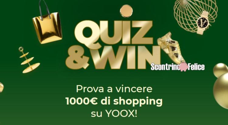 YOOX QUIZ 'N' WIN