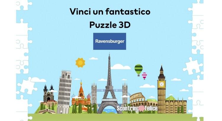 In giro per il mondo con H&M vinci gratis Puzzle 3D Ravensburger