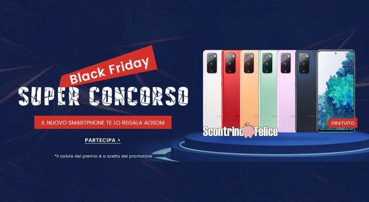 Vinci gratis Samsung S20 FE 5G e buoni Aosom da € 100