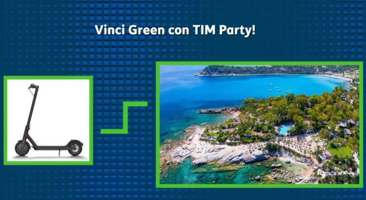 concorso Vinci Green con TIM Party
