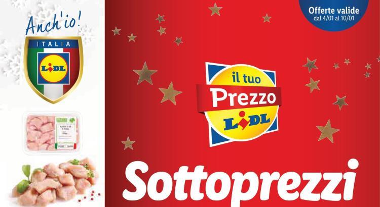 Anteprima Volantino Offerte Lidl valido dal 4-01 al 10-01 2021-01