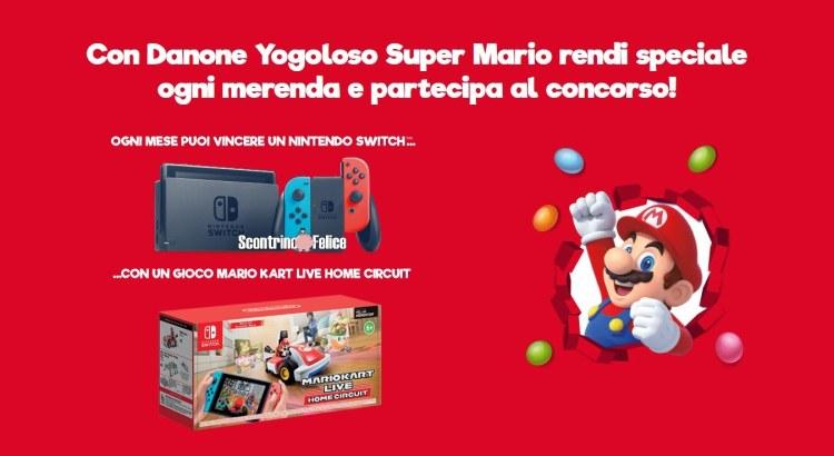 concorso Vinci Nintendo Con Danone 2021
