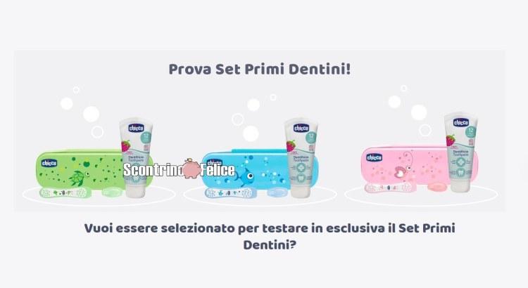 Diventa tester Set Primi Dentini Chicco