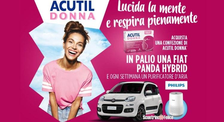 concorso Acutil Donna Lucida La Mente e Respira Pienamente