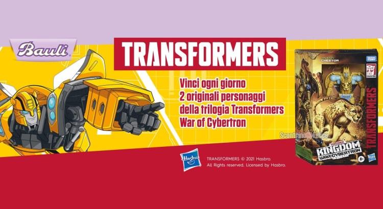 Concorso Uova di Pasqua Bauli Transformers 2021