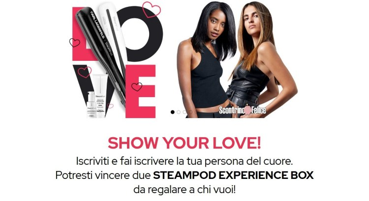Vinci gratis 20 Steampod Experience Box di L'Oréal Professionnel