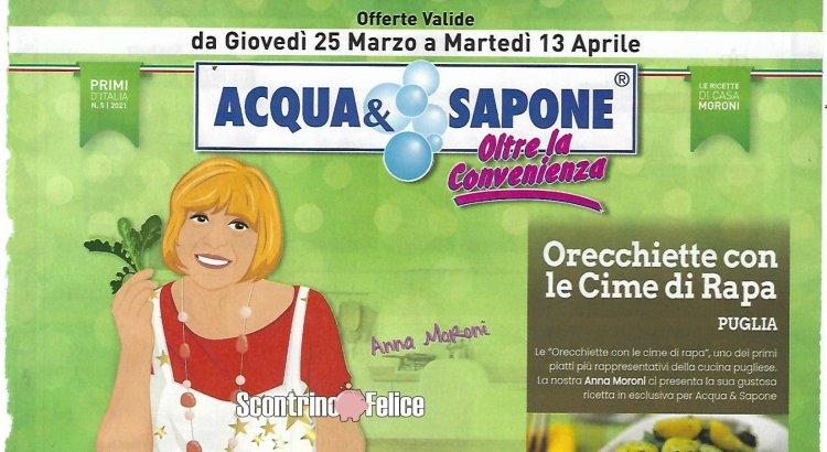 Volantino Acqua e Sapone valido dal 25-03 al 13-04 2021