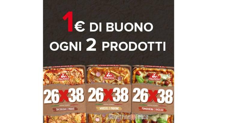 Buoni sconto Italpizza 26x38
