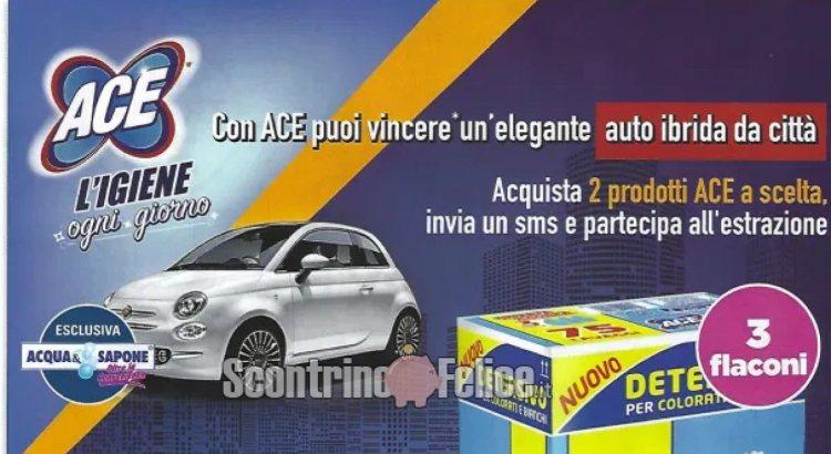 Con ACE puoi vincere un'elegante auto ibrida da città
