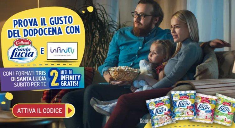 Mozzarella Santa Lucia Infinity premio certo